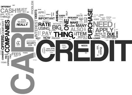 WHAT YOU NEED TO KNOW ABOUT CREDIT CARDS TEXT WORD CLOUD CONCEPT