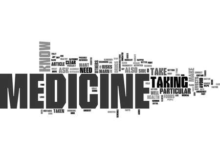 jay: WHAT YOU NEED TO KNOW TO ASK ABOUT MEDICINE TEXT WORD CLOUD CONCEPT Illustration