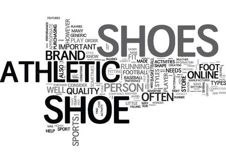 addition: WHAT YOU SHOULD KNOW ABOUT ATHLETIC SHOE TEXT WORD CLOUD CONCEPT