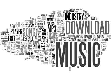 WHAT YOU SHOULD KNOW BEFORE YOU DOWNLOAD MUSIC ONLINE TEXT WORD CLOUD CONCEPT