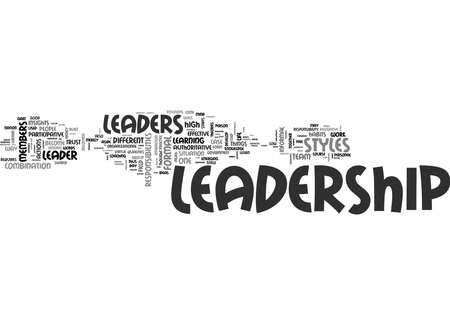 WHAT YOU SHOULD KNOW ON LEADERSHIP TEXT WORD CLOUD CONCEPT Illustration