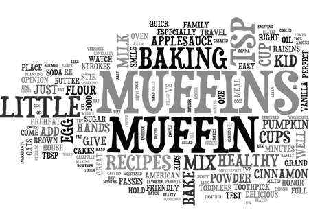 WHEN YOU GIVE A KID A MUFFIN YOU RE GONNA GET A SMILE TEXT WORD CLOUD CONCEPT