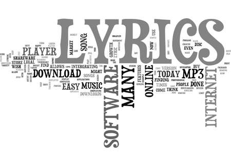 bought: WHERE DO YOU FIND LYRICS ONLINE TEXT WORD CLOUD CONCEPT