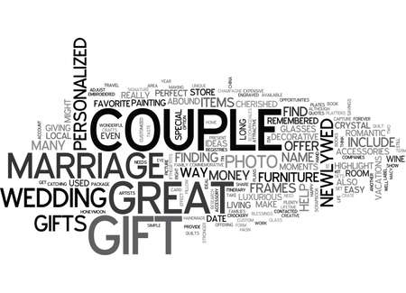 bought: WHERE TO FIND GREAT MARRIAGE GIFTS TEXT WORD CLOUD CONCEPT
