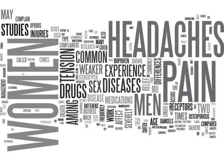 WHICH IS THE WEAKER SEX WHEN IT COMES TO PAIN TEXT WORD CLOUD CONCEPT