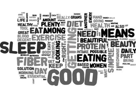 intake: WOMEN HEALTH AND BEAUTY GO HAND IN HAND TEXT WORD CLOUD CONCEPT