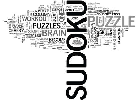 WHICH PUZZLE GIVES YOUR BRAIN OR YOUR KID S BRAIN THE BEST WORKOUT TEXT WORD CLOUD CONCEPT