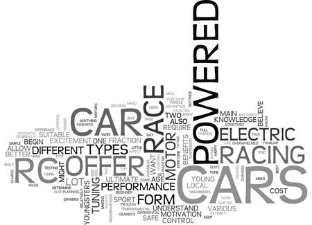 neighbourhood: WHICH RC CAR IS RIGHT FOR YOU TEXT WORD CLOUD CONCEPT