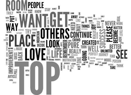 上部のテキスト単語雲の概念にする方法
