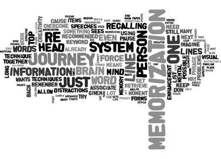 WHY DON T YOU TRY THE JOURNEY SYSTEM TEXT WORD CLOUD CONCEPT Illustration