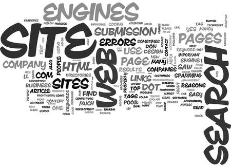 WHY DOT COMS FAIL A WEBMASTER S PERSPECTIVE TEXT WORD CLOUD CONCEPT