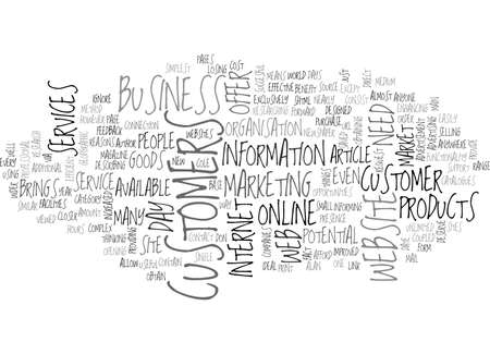WHY I NEED A WEBSITE TEXT WORD CLOUD CONCEPT