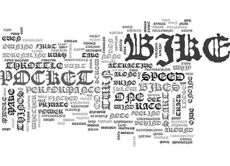 WHY IS MY BIKE SO SLOW HOW TO REV IT BACK UP TEXT WORD CLOUD CONCEPT