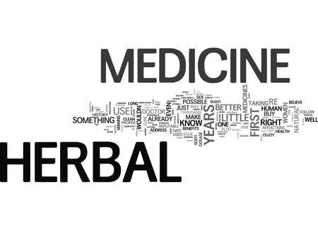 WHY IT S BETTER FOR WOMEN TO USE HERBAL MEDICINE TEXT WORD CLOUD CONCEPT