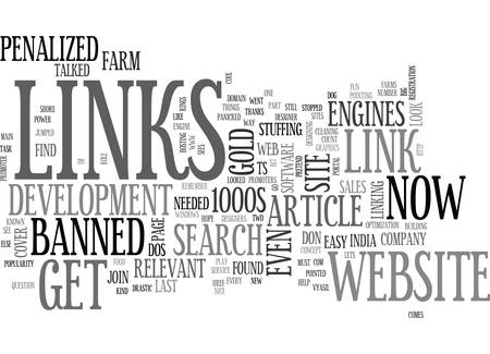 looked: WHY LINKS COUNT THE POWER OF LINKS PART TWO TEXT WORD CLOUD CONCEPT