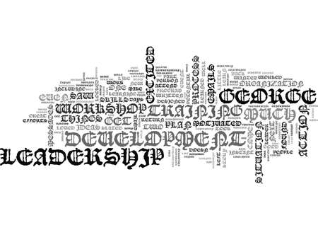 WHY MOST LEADERSHIP DEVELOPMENT EFFORTS FAIL TEXT WORD CLOUD CONCEPT