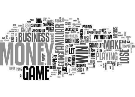 unfavorable: WISE PLAYER WINS THE GAME TEXT WORD CLOUD CONCEPT