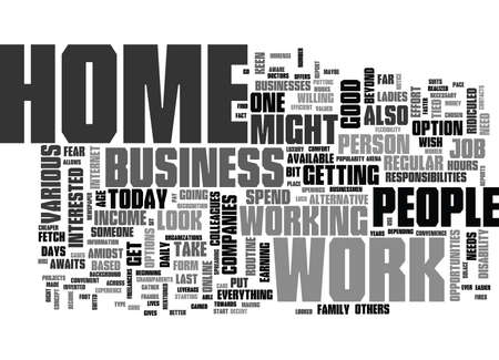 WORK BUT WHAT SUITS YOUR NEEDS TEXT WORD CLOUD CONCEPT Иллюстрация