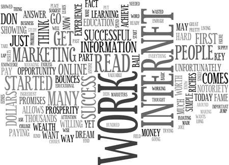 WORK FOR RESULTS TEXT WORD CLOUD CONCEPT