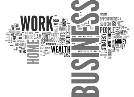 WORK FOR SUCCESS IN YOUR BUSINESS TEXT WORD CLOUD CONCEPT