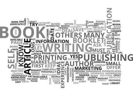 author: YOU CAN BE AN AUTHOR TEXT WORD CLOUD CONCEPT