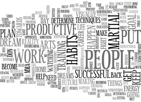 YOUR HABITS WILL DETERMINE YOUR FUTURE TEXT WORD CLOUD CONCEPT
