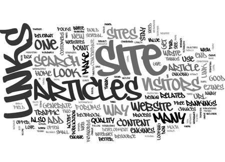 folks: YOU VE GOT A NEW WEBSITE BUT HOW DO YOU GET FOLKS TO LOOK AT IT TEXT WORD CLOUD CONCEPT Illustration