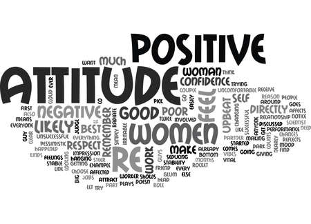 YOUR ATTITUDE COUNTS TEXT WORD CLOUD CONCEPT Banco de Imagens - 79647544
