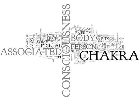 YOUR BODY IS A MAP OF YOUR CONSCIOUSNESS TEXT WORD CLOUD CONCEPT