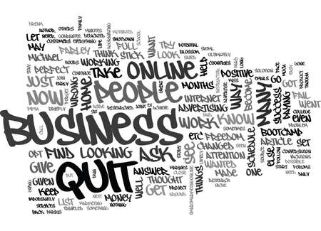 quit: YOU WANT TO QUIT THINK AGAIN TEXT WORD CLOUD CONCEPT