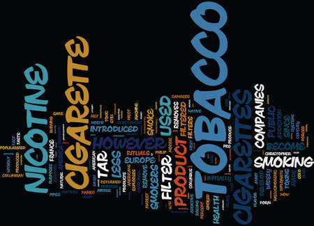 ARE THERE SAFE CIGARETTES Text Background Word Cloud Concept