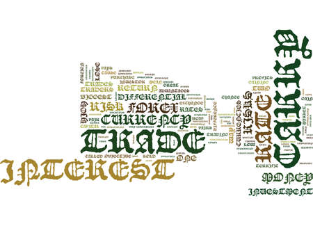 ARE THERE ANY RISKS WITH A CARRY TRADE Text Background Word Cloud Concept