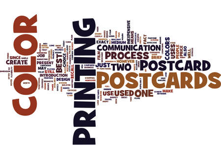 ARE POSTCARDS WORTH THEIR PRICE Text Background Word Cloud Concept