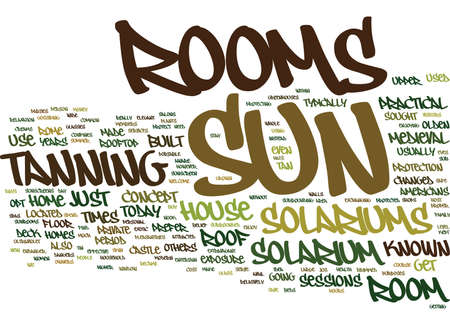 ARE SUN ROOMS SAFE Text Background Word Cloud Concept