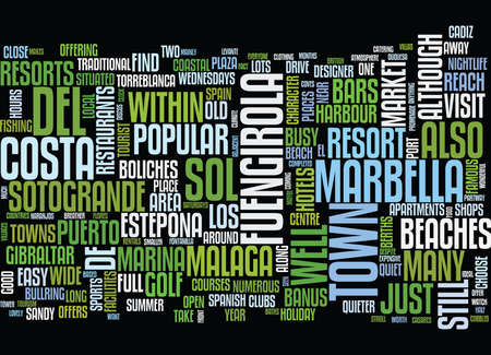 BEACH HOLIDAYS Text Background Word Cloud Concept