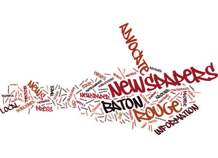 BATON ROUGE NIGHTLIFE Text Background Word Cloud Concept