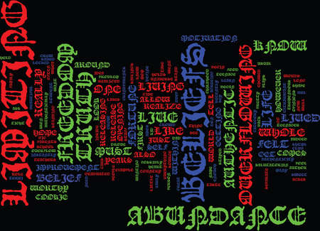 authenticity: AUTHENTICITY FREEDOM Text Background Word Cloud Concept