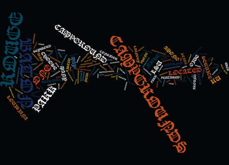 BATON ROUGE DENTISTRY Text Background Word Cloud Concept Ilustração