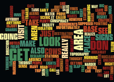 AREA Text Background Word Cloud Concept