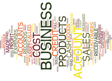 ASSETS AND LIABILITIES Text Background Word Cloud Concept