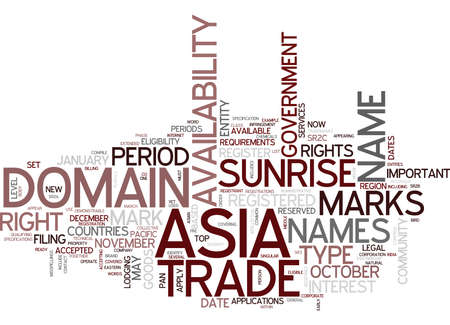 ARE YOU READY FOR ASIA Text Background Word Cloud Concept