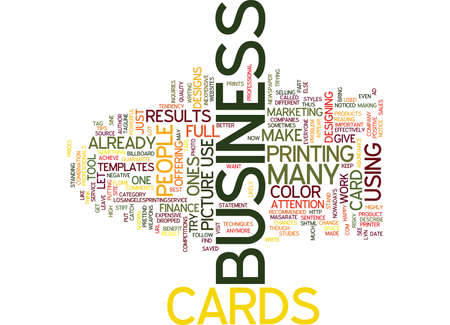 BE ON YOUR WAY TO SUCCESS WITH POCKET BUSINESS CARD HOLDERS Text Background Word Cloud Concept