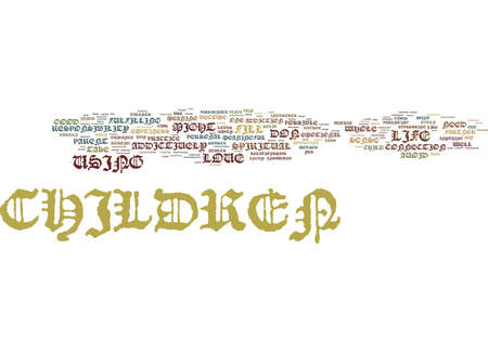 ARE YOU ADDICTED TO YOUR CHILDREN Text Background Word Cloud Concept