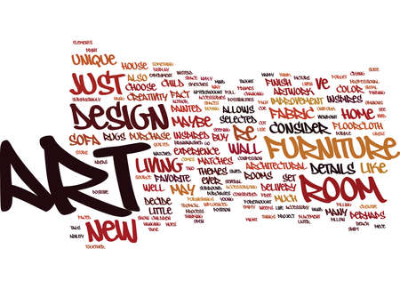 ART AND DESIGN Text Background Word Cloud Concept Stock Vector - 82570512