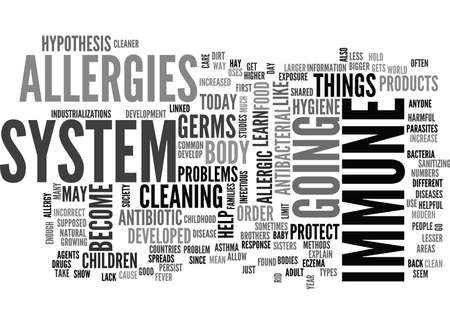 ARE WE TOO CLEAN TODAY Text Background Word Cloud Concept