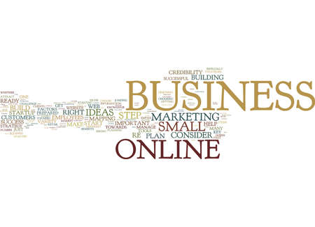 ARE YOU READY FOR A SUCCESSFUL ONLINE BUSINESS Text Background Word Cloud Concept 向量圖像