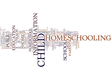 ARE YOU READY TO HOMESCHOOL YOUR CHILD YET Text Background Word Cloud Concept