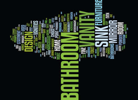 BATHROOMS ARE A HOME S TRUE UNDERACHIEVERS Text Background Word Cloud Concept