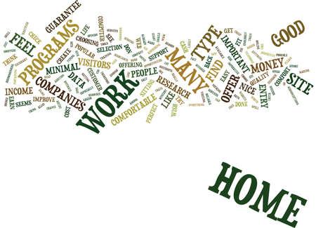 ホーム作業テキスト背景単語雲概念で