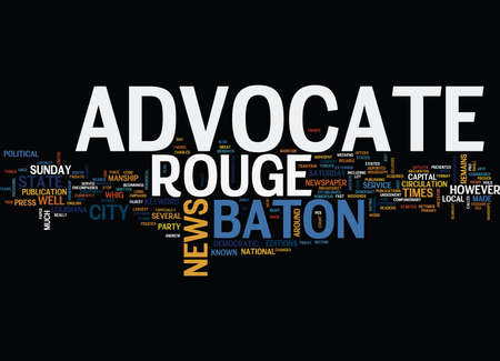 BATON ROUGE ANIMAL SHELTER Text Background Word Cloud Concept